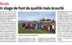 Article Midi-Libre « La Toussaint Foot »